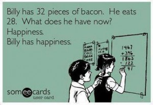 Things They Forgot to Mention, blog, bacon