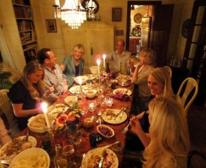 Things They Forgot to Mention, blog, photo, Thanksgiving, table, grateful, gratitude, thankful