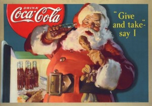 Christmas, Things They Forgot to Mention, blog, photo, Santa, Santa Claus, Coca-Cola